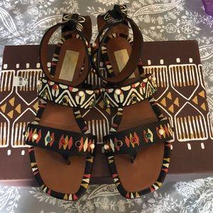 Valentino Aztec sandals